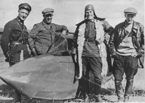 Российские авиаторы. В.С. Вахмистров