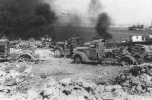 Г. Н. Елецких. Крым 12 июля 1944 года. Зарисовки с натуры.