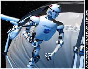 Андроид - робонавт