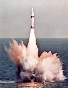 Ракета подводного флота США «Polaris»