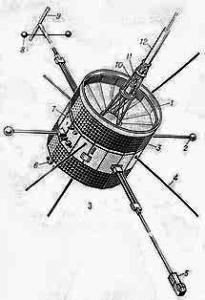 Американская АМС «ISEE-C» - первый  пролет через ядро кометы